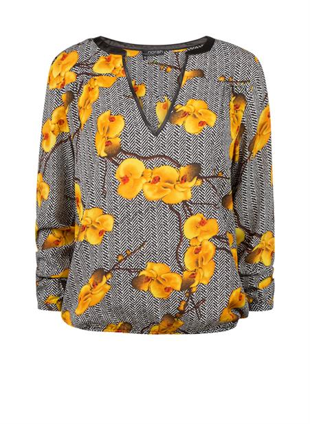 Blouse orchidee