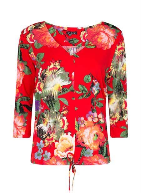 Shirt bloemenprint